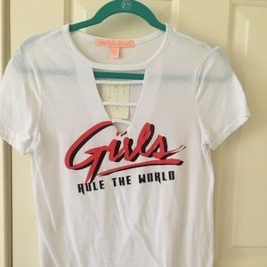 A Girls Rule the World T-Shirt